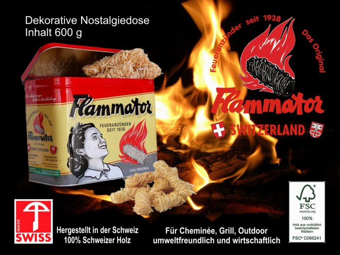Produkte Swissflame Nostalgiedose